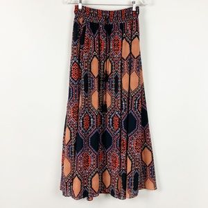 Anthropologie Maeve Maxi Skirt Multicolored